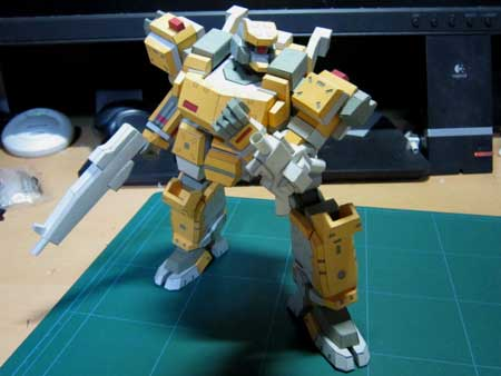 Armored Core Papercraft