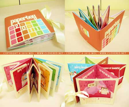 2011 Paper Toy Pop-up Calendar