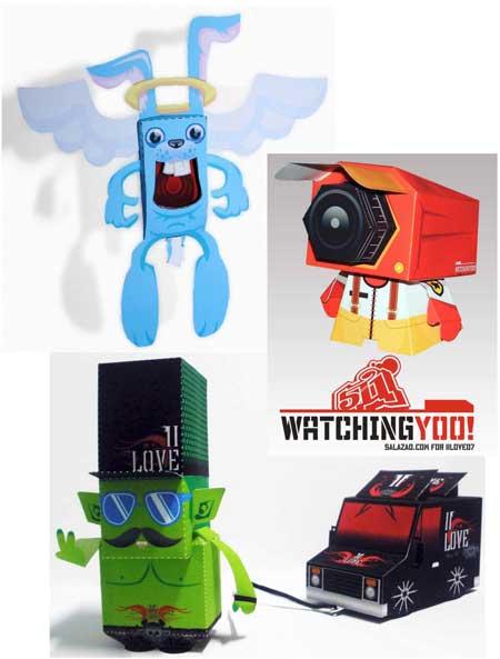II LOVE Papercraft Toy Magazine 7