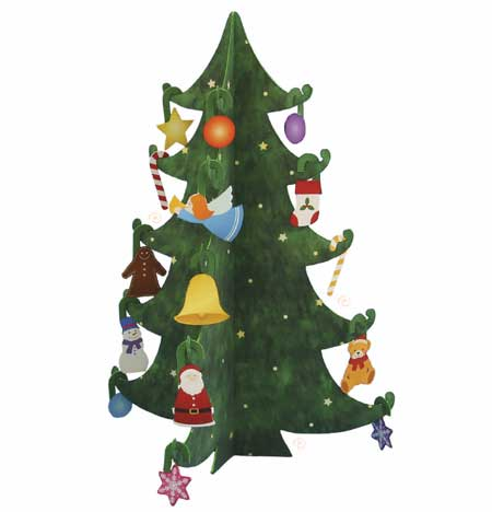 2010 Mini Christmas Tree Papercraft