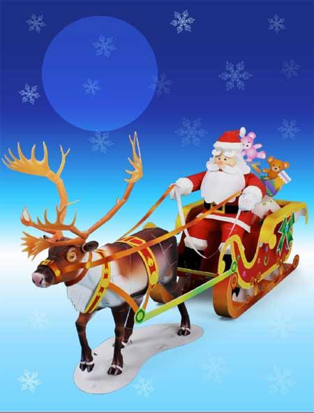 2010 Santa Claus Papercraft
