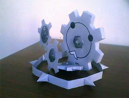Pokemon Gigigiaru Papercraft