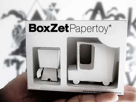 BoxZet Paper Toy