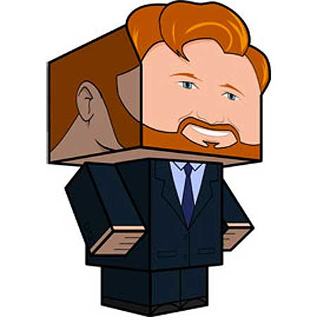 Bearded Conan Papercraft