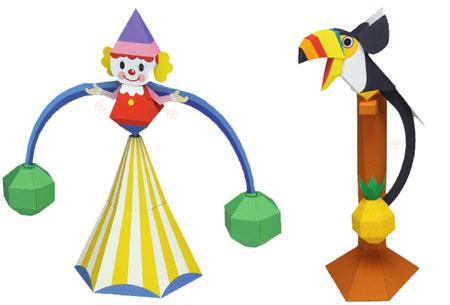 Balance Toy Papercraft Yajirobe