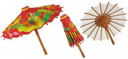 Chinese Umbrella Papercraft