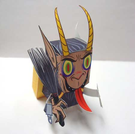 Krampus Papercraft