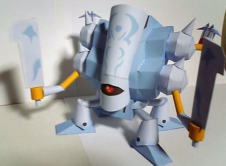 Dragon Quest IX - Trauminator Papercraft