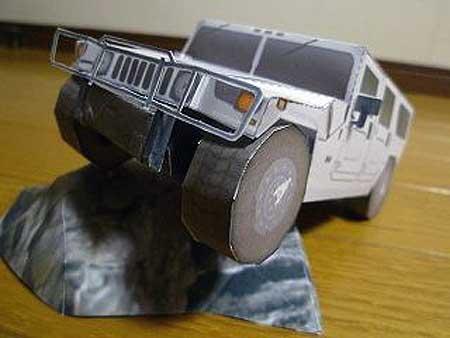 Hummer H1 Papercraft