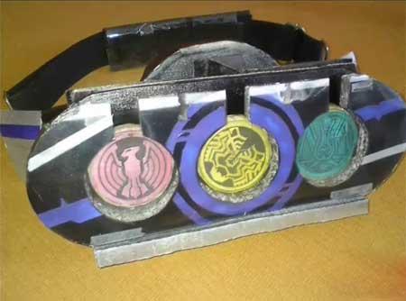 Kamen Rider OOO Papercraft OOO Driver Belt