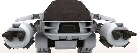 RoboCop Papercraft ED 209