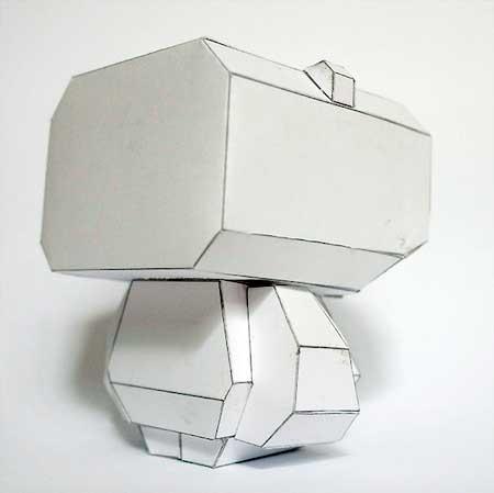 Pandacrew SHTK Paper Toy