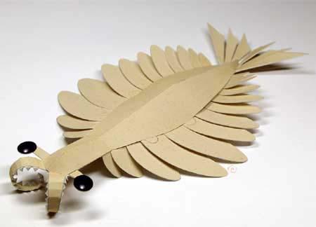Anomalocaris Papercraft