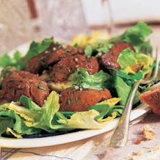 Warm Escarole and Chicken Liver Salad (Salade de Foies de Volailles)