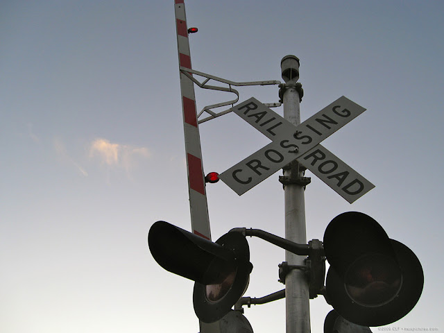 Crossing signal and gate