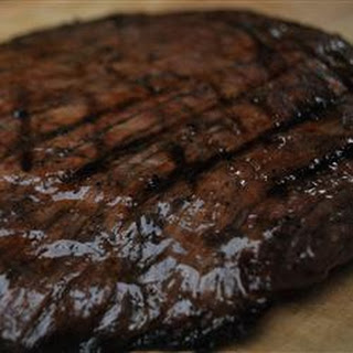 Flank Steak with a Port Wine Marinade