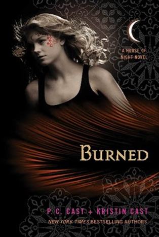 Cover Art: Burned by P.C. Cast & Kristin Cast