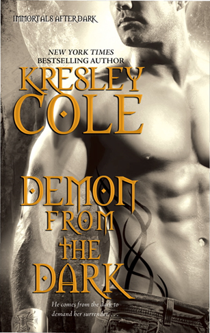 Cover Art: Demon From the Dark by Kresley Cole