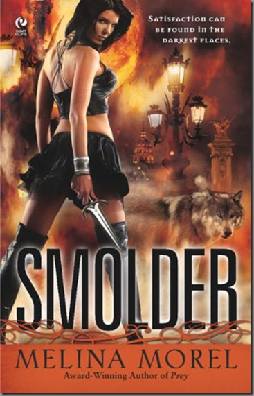 Cover Art: Smolder by Melina Morel