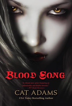 Cover Art: Blood Song by Cat Adams