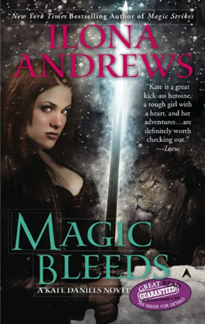 5 bat! Review: Magic Bleeds by Ilona Andrews