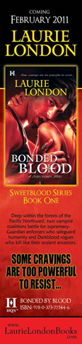 "Interview & Giveaway: Laurie London ""Bonded By Blood"""