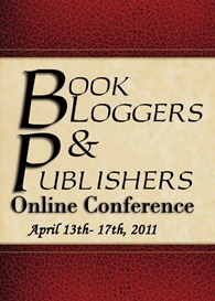 Join me at the Book Bloggers and Publishers Online Conference