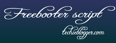 free booter script calligrpahy font