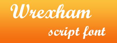 Wrexham Script calligraphic font কিছু পেচাইন্না হাতের লিখা (৪৫টি জটিল ফন্ট) ফ্রী ডাউনলোড করেন