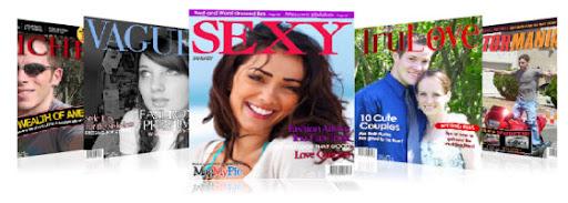 MagMyPic : Fake Magazine cover maker
