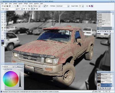 Paint.NET 3.5 Beta 1 Free image editing Tool