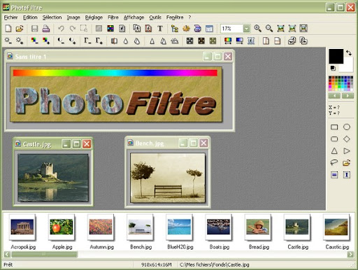 PhotoFiltre 6.3.2 - image Retouching tool