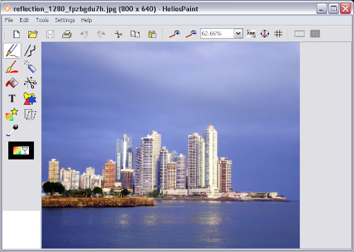 HeliosPaint Image Editor