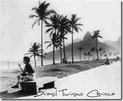 Praia de Ipanema – anos 50.