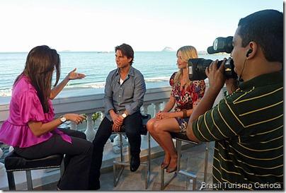 """Cameron Diaz elogiou o Rio de Janeiro: """"É uma cidade incrível"""""""