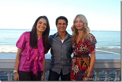 Patricia Poeta entrevista Tom Cruise e Cameron Diaz