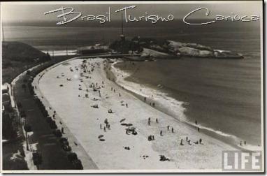 Arpoador, Praia do Diabo, Estação Telegráfica, metade dos anos 30