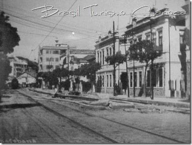 Av. Copacabana, início dos anos 40