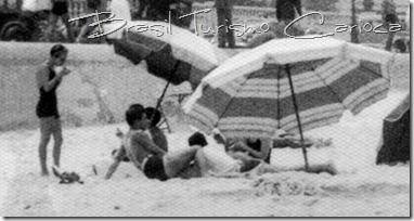 Praia de Copacabana, na segunda metade dos anos 30
