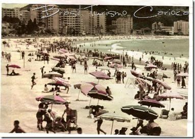 Vista de Copacabana (postos V e IV), anos 40
