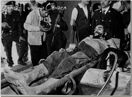 Cadáver de Ernesto Guevara de la Sern