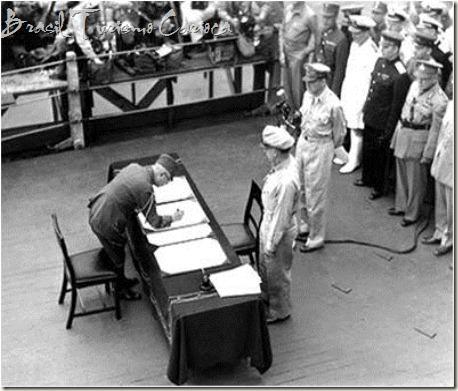 Rendicao Japonesa na 2 guerra