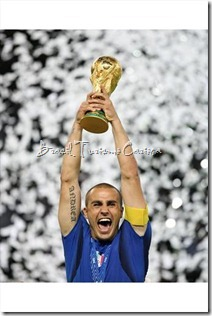 2006 FIFA World Cup Germany - Fabio Cannavaro (ITA) with the trophy