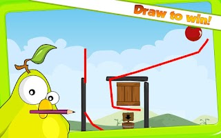 Screenshot of Fruit Birds Draw