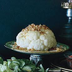 Cauliflower with Rye Crumbs
