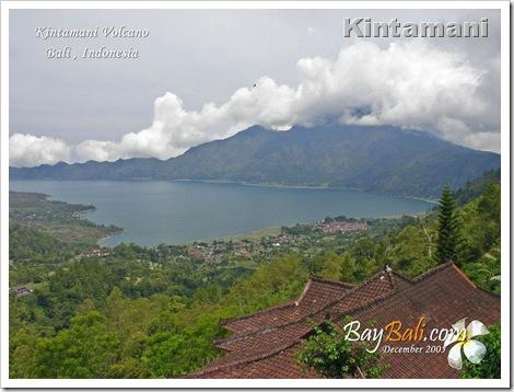 kintamani volcano lake