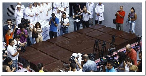 The World's Biggest Chocolate Bar