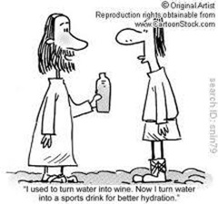 water to sport drink cartoon