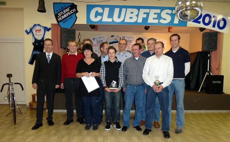 Die Vereinsmeister 2010