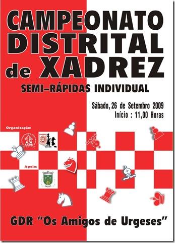 Cartaz Distrital Semi-Rápidas